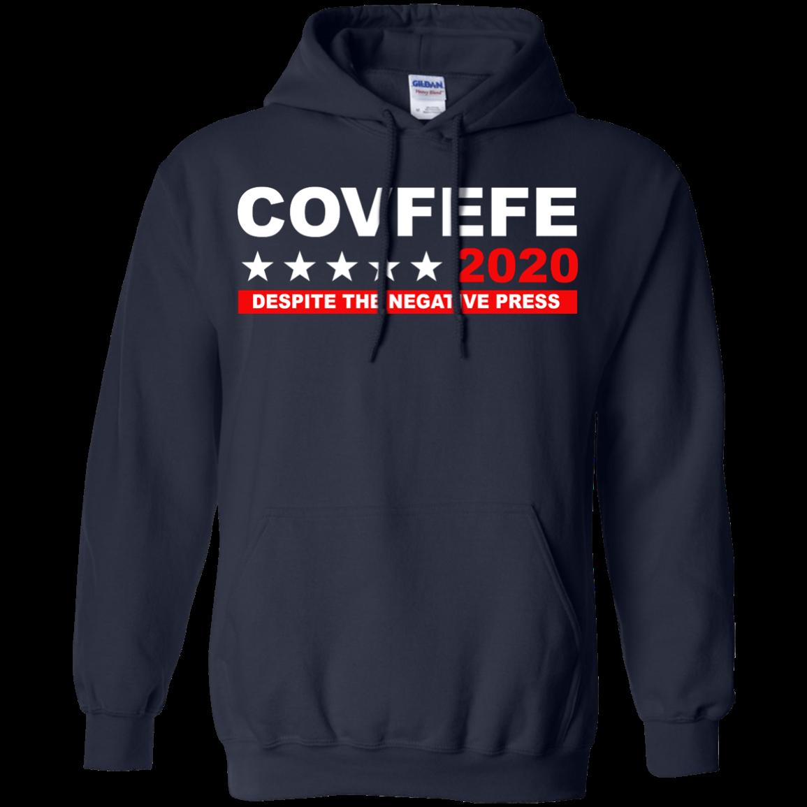 image 877px Covfefe 2020 Despite The Negative Press T Shirts, Hoodies