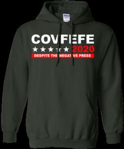 image 878 247x296px Covfefe 2020 Despite The Negative Press T Shirts, Hoodies