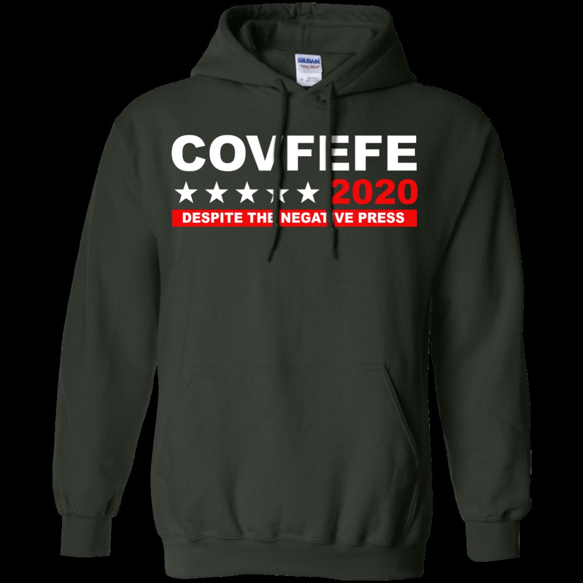 image 878px Covfefe 2020 Despite The Negative Press T Shirts, Hoodies