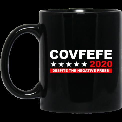 image 882 490x490px Covfefe 2020 Despite The Negative Press Coffee Mug