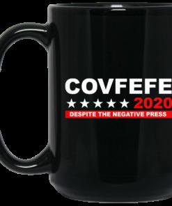 image 883 247x296px Covfefe 2020 Despite The Negative Press Coffee Mug