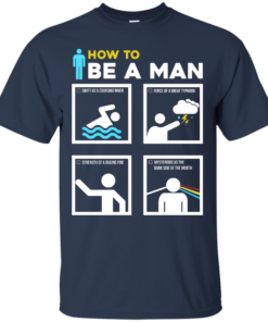 image 897 247x296px How To Be A Man T Shirts, Hoodies, Sweater