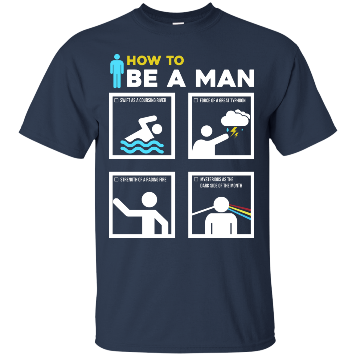 image 897px How To Be A Man T Shirts, Hoodies, Sweater