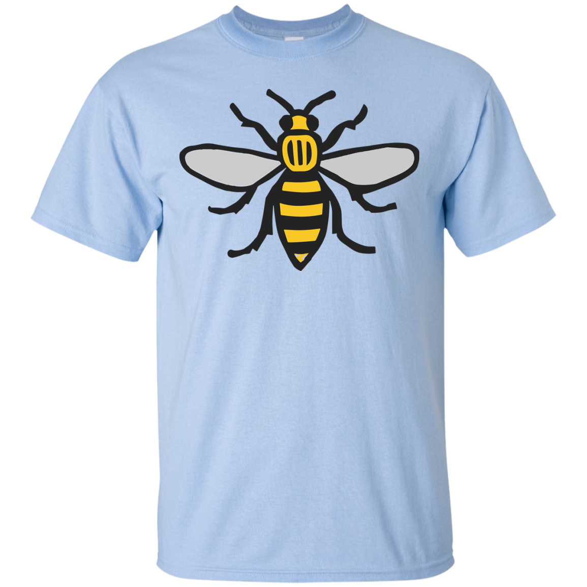 image 9px Manchester Bee, Symbol of Manchester T Shirts