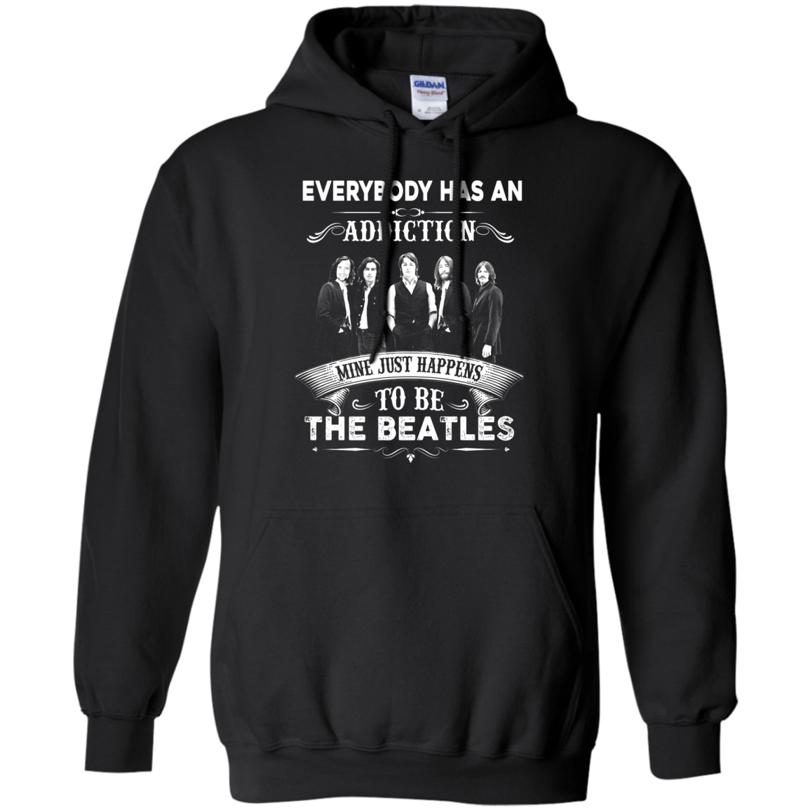 image 908px Everybody Has An Addiction Mine Just Happens To Be The Beatles T Shirts, Hoodies