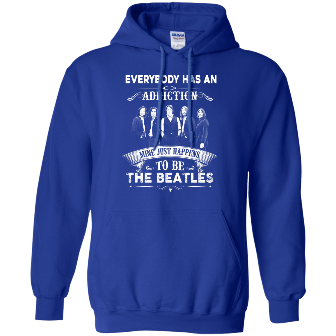 image 909px Everybody Has An Addiction Mine Just Happens To Be The Beatles T Shirts, Hoodies