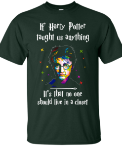 image 987 247x296px If Harry Potter Taught Us Anything It's That No One Should Live In A Closet T Shirts