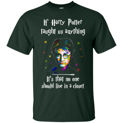 image 987 490x490px If Harry Potter Taught Us Anything It's That No One Should Live In A Closet T Shirts