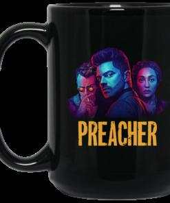 image 1 247x296px Preacher Season 2 Comic Book Cult Tv Show Mug Coffee