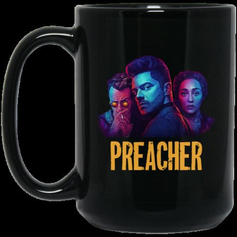 image 1 490x490px Preacher Season 2 Comic Book Cult Tv Show Mug Coffee