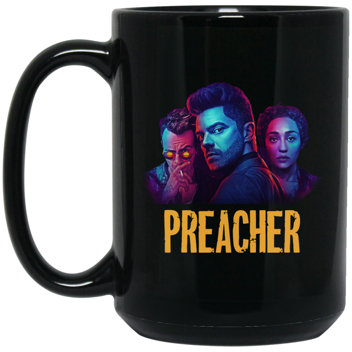 image 1px Preacher Season 2 Comic Book Cult Tv Show Mug Coffee