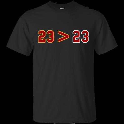 image 10 490x490px LeBron Greater Than Jordan 23 Greater 23 T Shirts, Hoodies, Tank