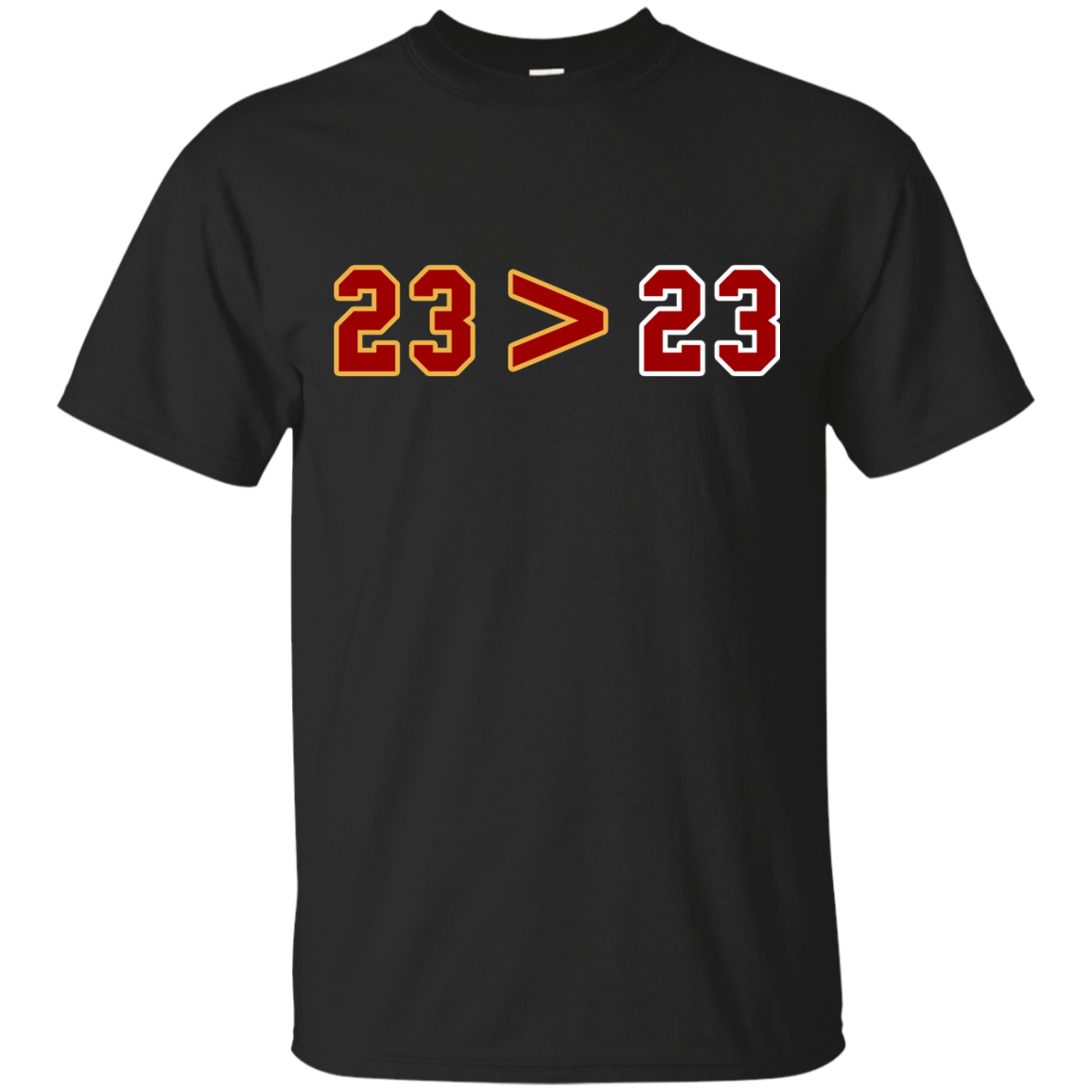 image 10px LeBron Greater Than Jordan 23 Greater 23 T Shirts, Hoodies, Tank