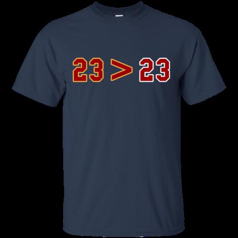 image 11 490x490px LeBron Greater Than Jordan 23 Greater 23 T Shirts, Hoodies, Tank