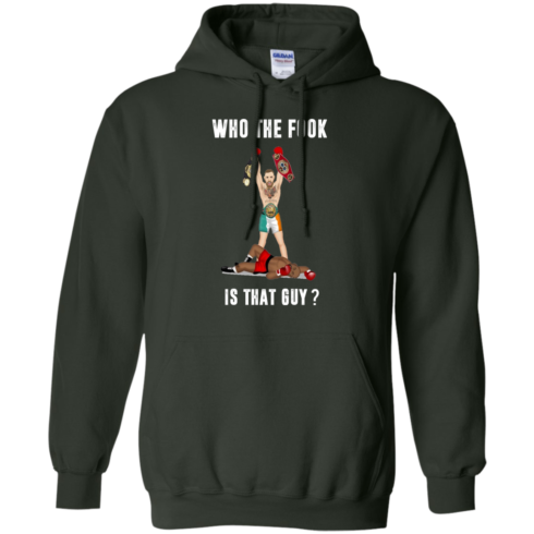 image 113 490x490px Floyd Mayweather vs Conor McGregor: Who The Fook Is That Guy T Shirts, Hoodies