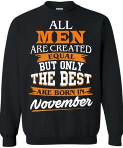 image 114 247x296px Jordan: All men are created equal but only the best are born in November t shirts