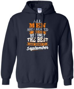 image 136 247x296px Jordan: All men are created equal but only the best are born in September t shirts