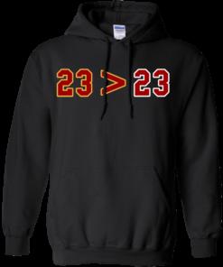 image 14 247x296px LeBron Greater Than Jordan 23 Greater 23 T Shirts, Hoodies, Tank