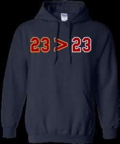 image 15 247x296px LeBron Greater Than Jordan 23 Greater 23 T Shirts, Hoodies, Tank