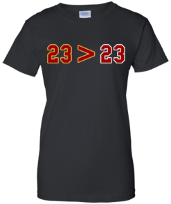 image 16 247x296px LeBron Greater Than Jordan 23 Greater 23 T Shirts, Hoodies, Tank