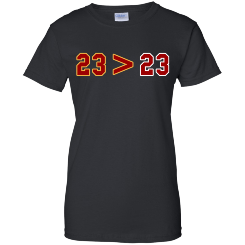 image 16 490x490px LeBron Greater Than Jordan 23 Greater 23 T Shirts, Hoodies, Tank