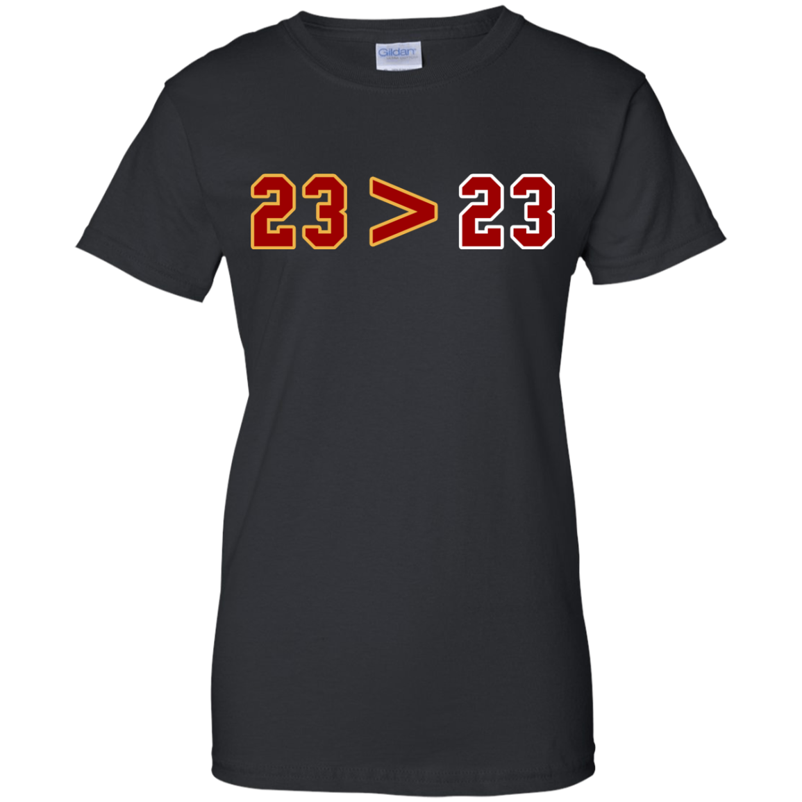 image 16px LeBron Greater Than Jordan 23 Greater 23 T Shirts, Hoodies, Tank