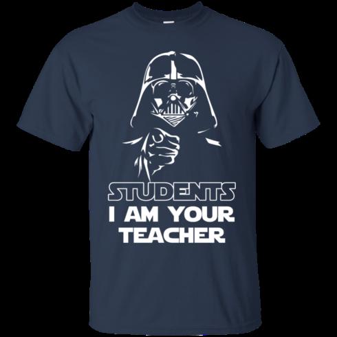 image 166 490x490px Star Wars: Students I Am Your Teacher T Shirts, Hoodies, Tank