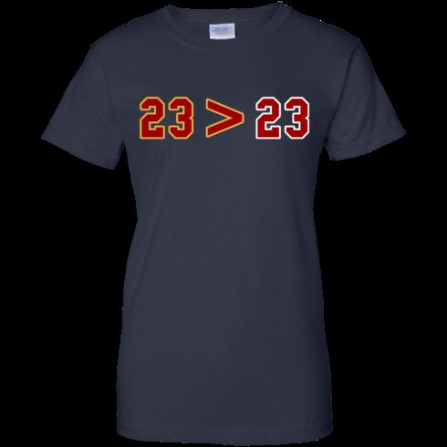 image 17 490x490px LeBron Greater Than Jordan 23 Greater 23 T Shirts, Hoodies, Tank