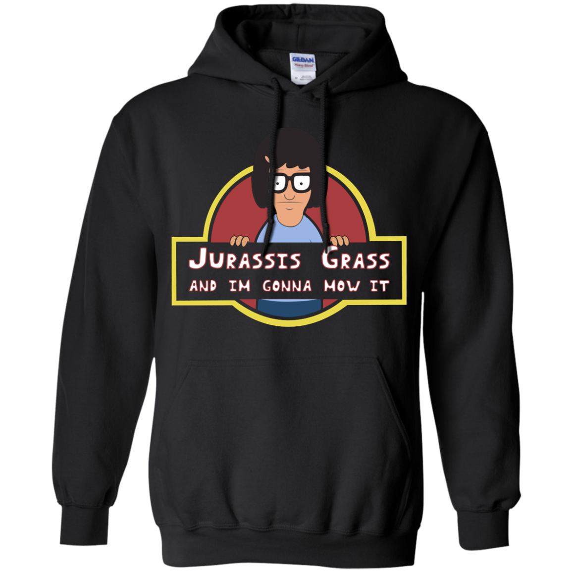image 246px Bob's Burgers: Jurassis Grass And I'm Gonna Mow It T Shirts, Tank Top, Sweaters