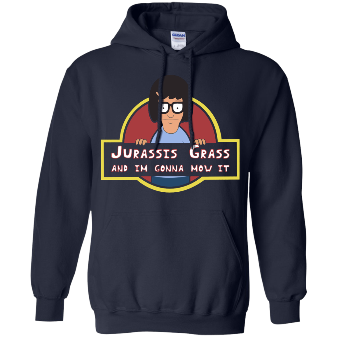 image 247px Bob's Burgers: Jurassis Grass And I'm Gonna Mow It T Shirts, Tank Top, Sweaters