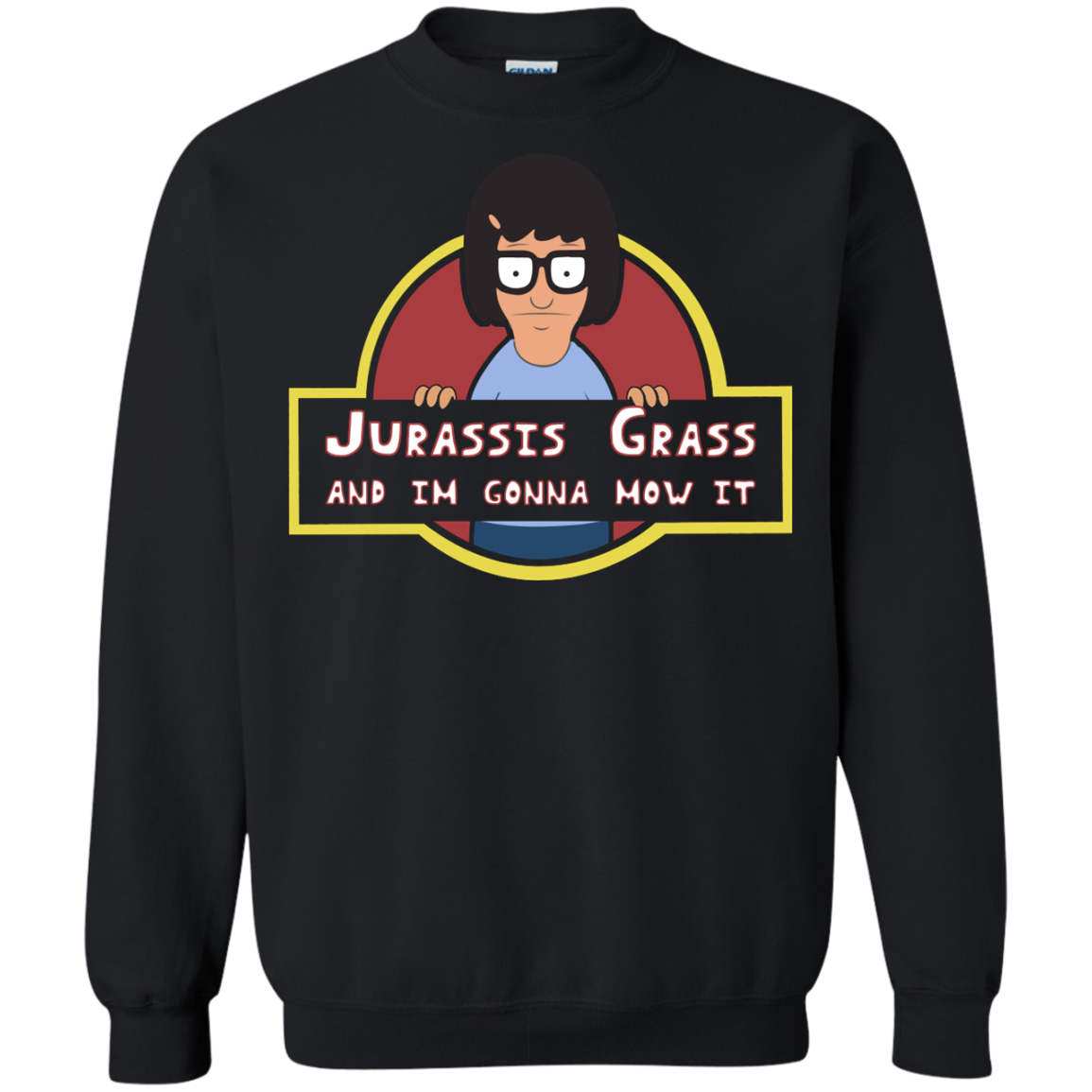 image 249px Bob's Burgers: Jurassis Grass And I'm Gonna Mow It T Shirts, Tank Top, Sweaters