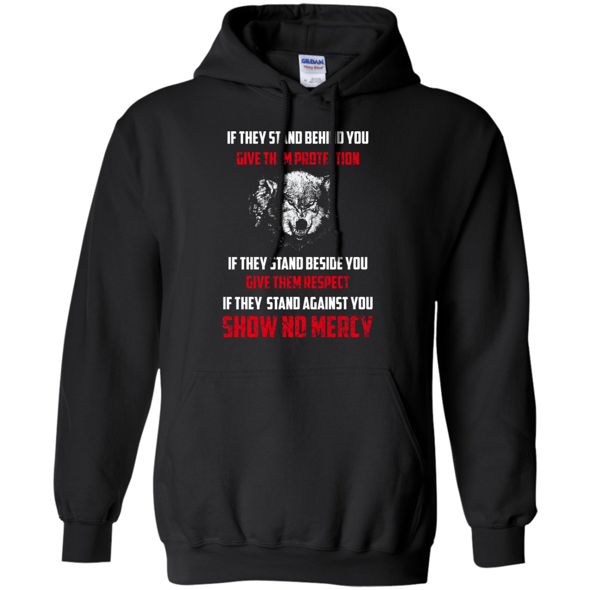 image 258px If They Stand Behind You Give Them Protection If They Stand Beside You Give Them Respect T Shirts