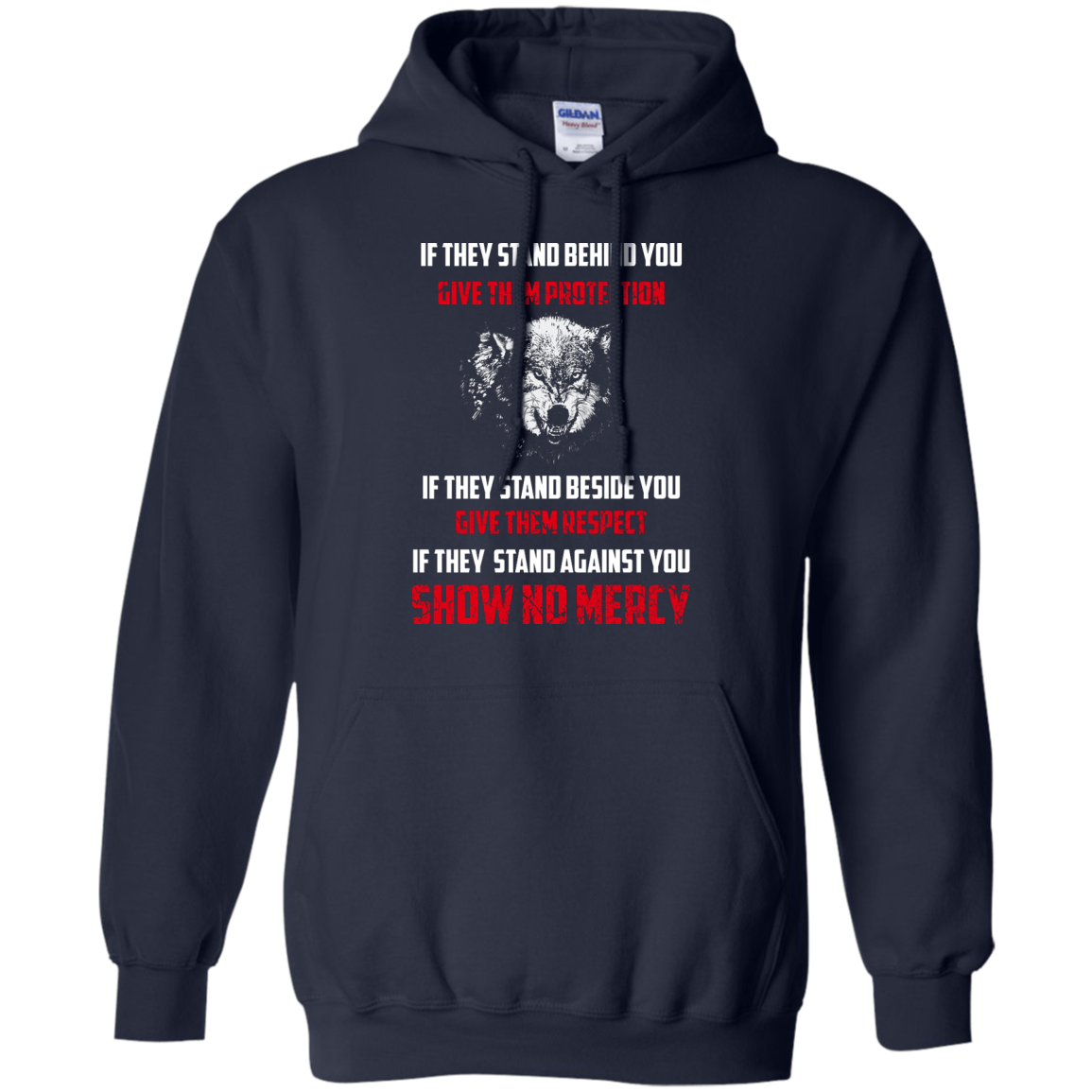 image 259px If They Stand Behind You Give Them Protection If They Stand Beside You Give Them Respect T Shirts