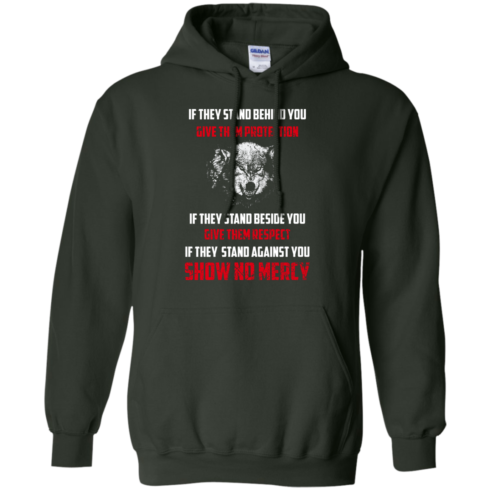 image 260 490x490px If They Stand Behind You Give Them Protection If They Stand Beside You Give Them Respect T Shirts