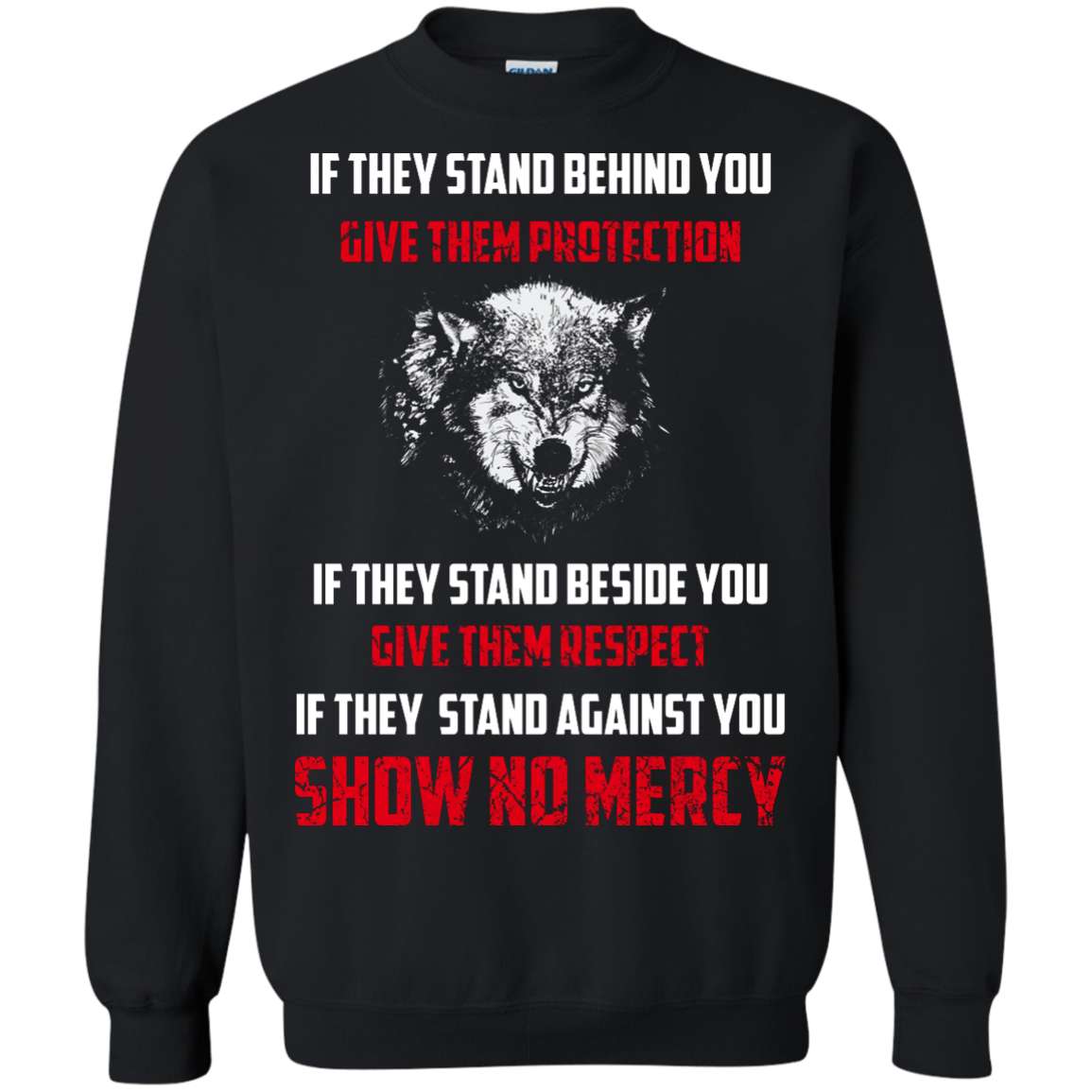 image 261px If They Stand Behind You Give Them Protection If They Stand Beside You Give Them Respect T Shirts