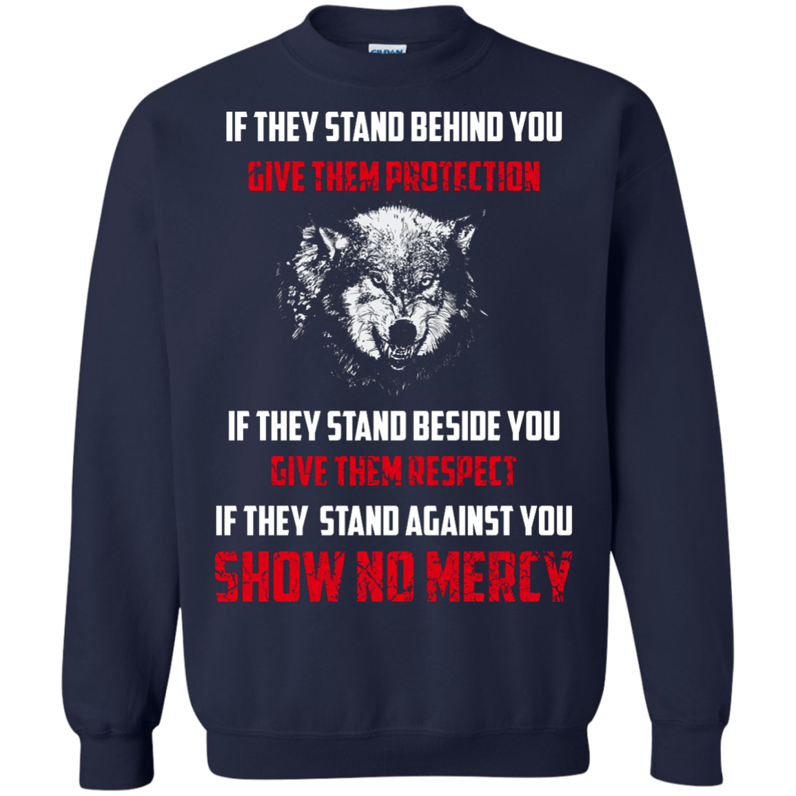 image 262px If They Stand Behind You Give Them Protection If They Stand Beside You Give Them Respect T Shirts