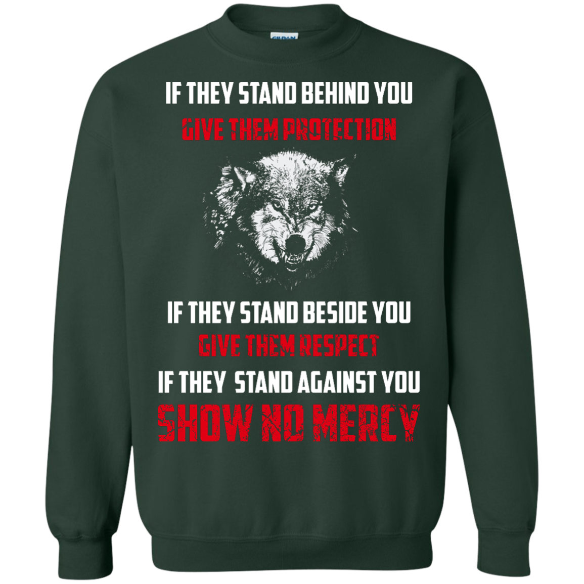 image 263px If They Stand Behind You Give Them Protection If They Stand Beside You Give Them Respect T Shirts