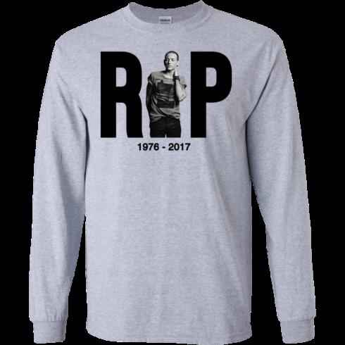image 277 490x490px R.I.P RIP Chester Bennington 2017 T Shirts, Hoodies, Long Sleeves