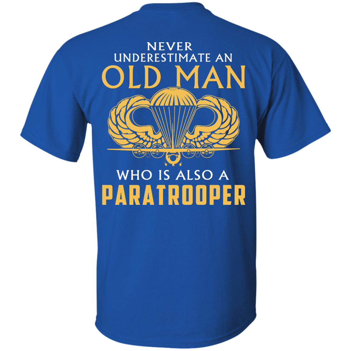image 339px Never underestimate an old man who is Paratrooper t shirts, hoodies