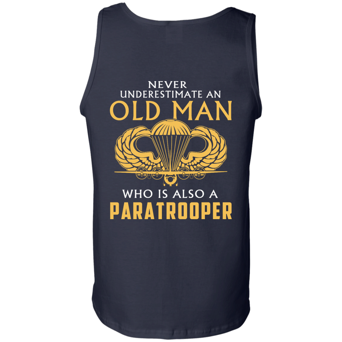 image 348px Never underestimate an old man who is Paratrooper t shirts, hoodies