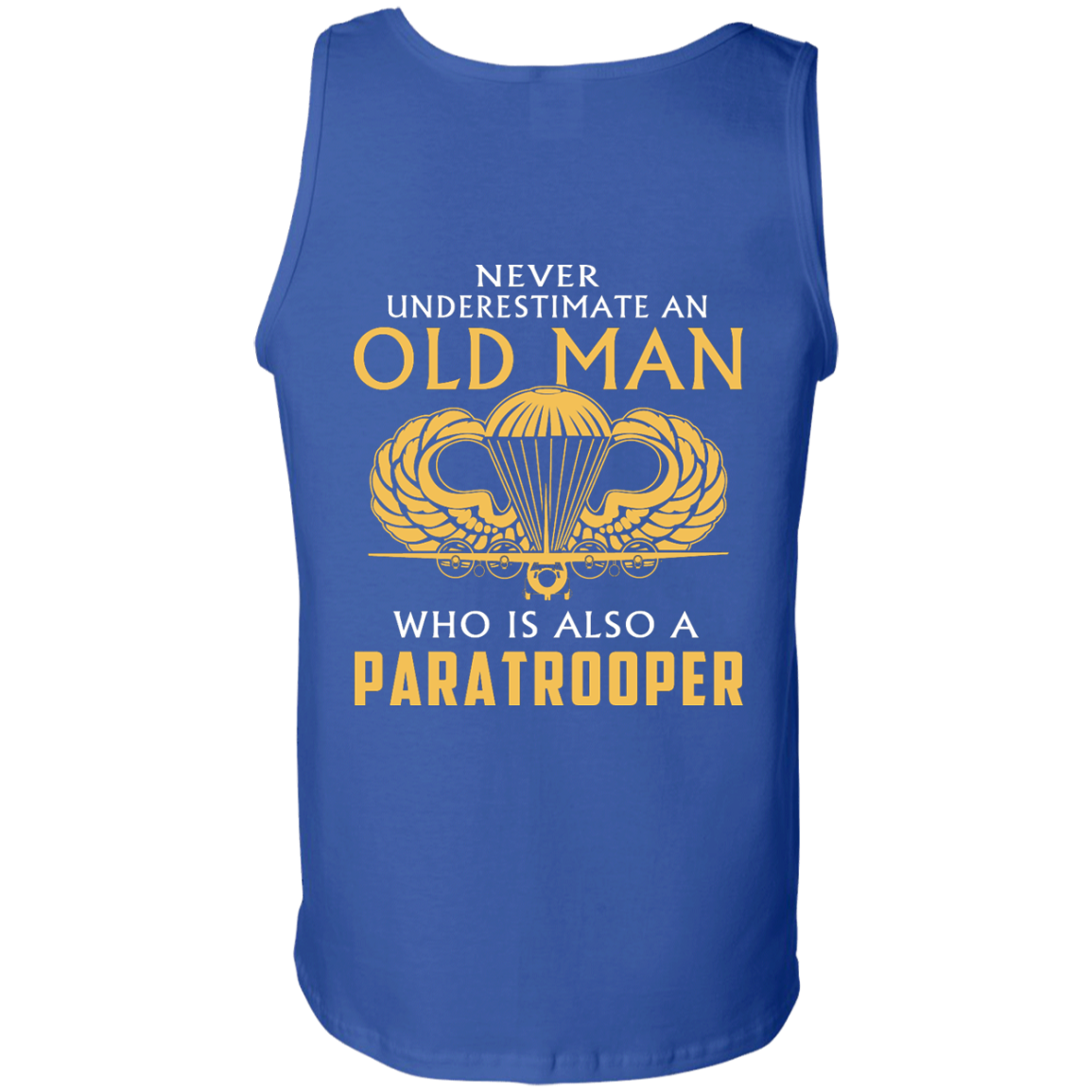 image 349px Never underestimate an old man who is Paratrooper t shirts, hoodies