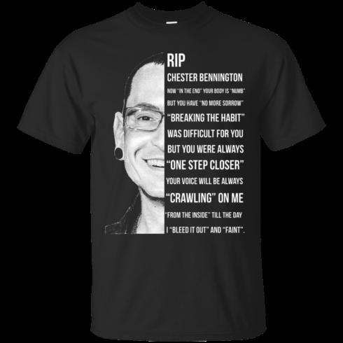 image 358 490x490px Linkin Park Rip Chester Bennington, Breaking The Habit T Shirts, Hoodies, Sweater