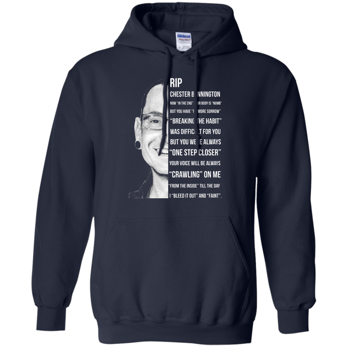 image 362px Linkin Park Rip Chester Bennington, Breaking The Habit T Shirts, Hoodies, Sweater