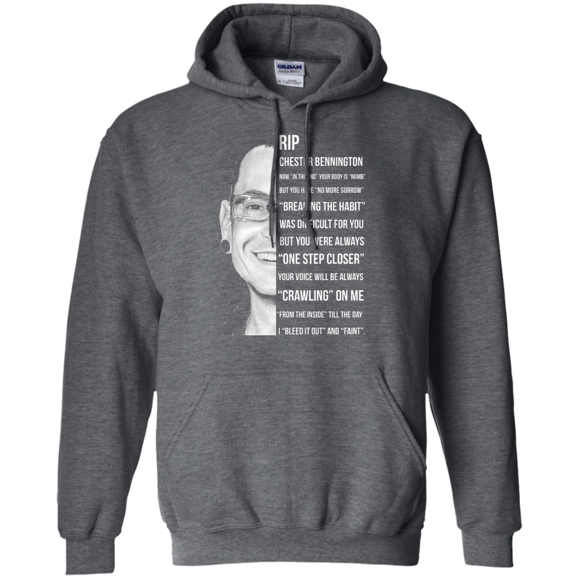 image 363px Linkin Park Rip Chester Bennington, Breaking The Habit T Shirts, Hoodies, Sweater