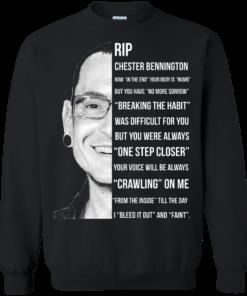 image 364 247x296px Linkin Park Rip Chester Bennington, Breaking The Habit T Shirts, Hoodies, Sweater
