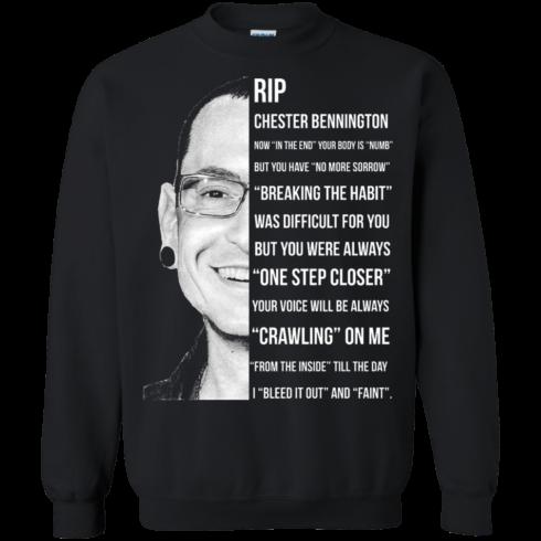 image 364 490x490px Linkin Park Rip Chester Bennington, Breaking The Habit T Shirts, Hoodies, Sweater