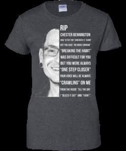 image 368 247x296px Linkin Park Rip Chester Bennington, Breaking The Habit T Shirts, Hoodies, Sweater