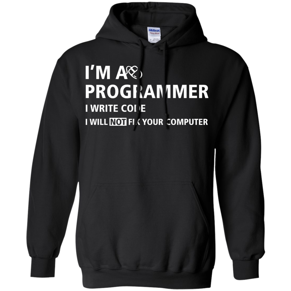 image 376px I'm a programmer I write code I will not fix your computer t shirts, tank top, hoodies
