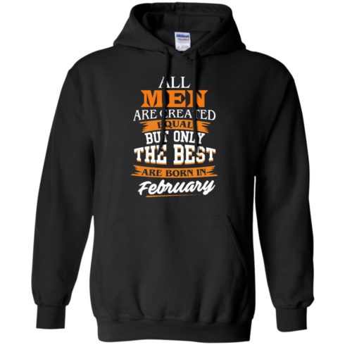 image 39 490x490px Jordan: All men are created equal but only the best are born in February t shirts