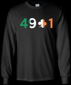 image 397 247x296px Conor Mcgregor 49 + 1 Irish T Shirts, Hoodies, Long Sleeves